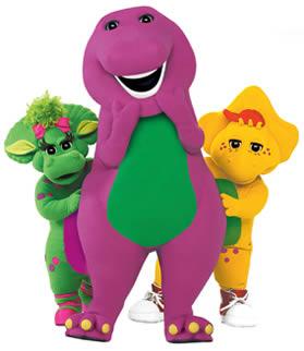 Barney el Dinosaurio y sus amigos