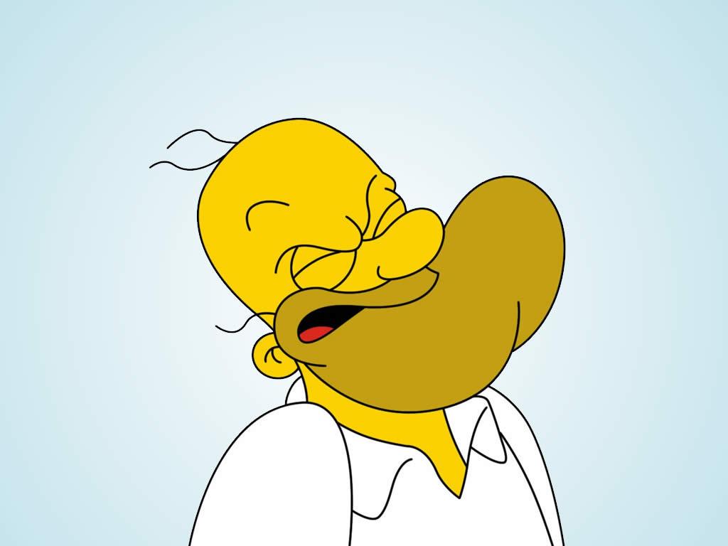 Popeye Homero Simpson